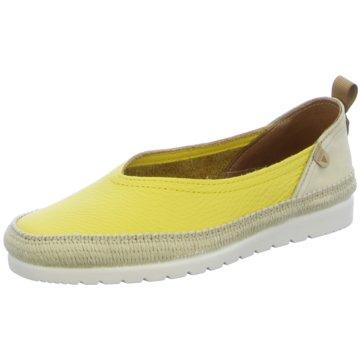 Verbenas Klassischer Slipper gelb