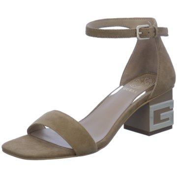 Guess Sandalette beige
