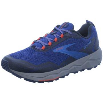Brooks Trailrunning blau