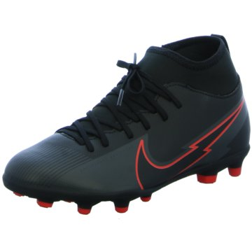 Nike Nocken-SohleJR. MERCURIAL SUPERFLY 7 CLUB MG - AT8150-060 schwarz