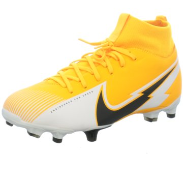Nike Nocken-SohleJR. MERCURIAL SUPERFLY 7 ACADEMY MG - AT8120-801 gelb