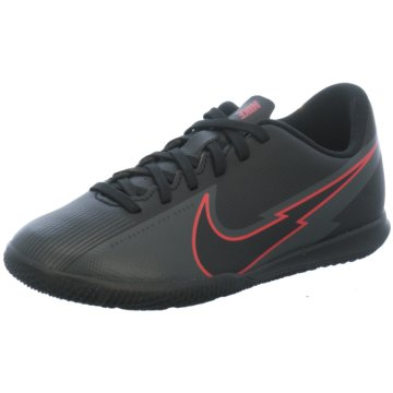 Nike Hallen-SohleNike Jr. Mercurial Vapor 13 Club IC Little/Big Kids' Indoor/Court Soccer Shoe - AT8169-060 schwarz