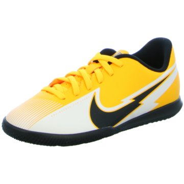 Nike Hallen-SohleJR. MERCURIAL VAPOR 13 CLUB IC - AT8169-801 gelb