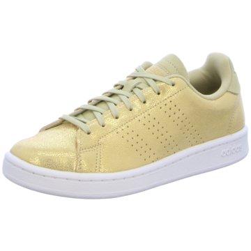 adidas Sneaker LowCloudfoam Advantage Premium Women gold