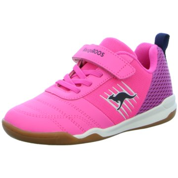 KangaROOS Sportlicher Schnürschuh pink