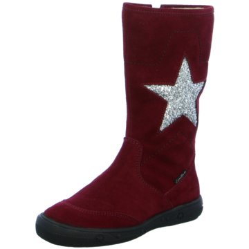 Lepi Hoher Stiefel rot