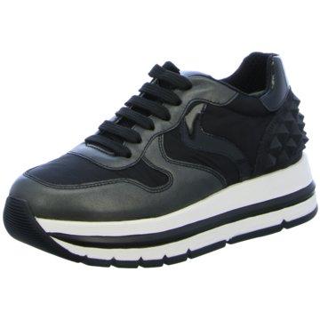 Voile Blanche Plateau Sneaker schwarz