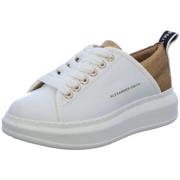 Alexander Smith Plateau Sneaker weiß