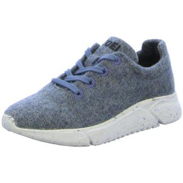 KOEL Sportlicher Schnürschuh blau