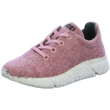 KOEL Sportlicher Schnürschuh rosa