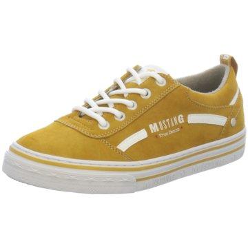 Mustang Sneaker Low gelb