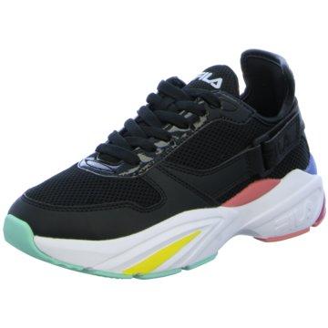 Fila Plateau Sneaker schwarz