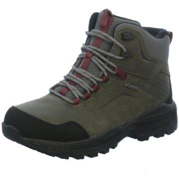 Merrell Outdoor Schuh grün