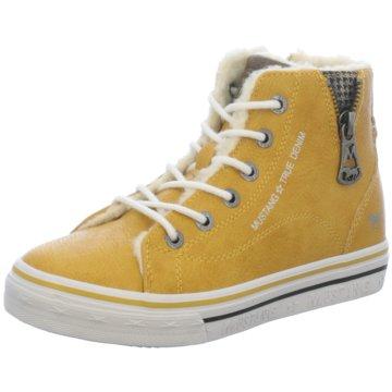 Mustang Sneaker High gelb