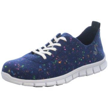 Thies Sneaker Low blau