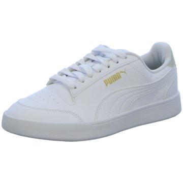 Puma Sneaker Low SHUFFLE JR - 375688 weiß