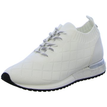 La Strada Sportlicher Schnürschuh weiß