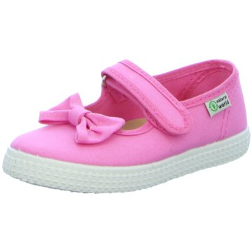 Natural World Eco Klettschuh pink