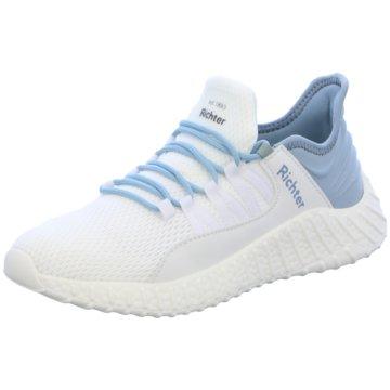 Richter Sneaker Low weiß