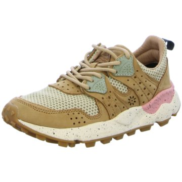 Flower Mountain Sneaker Low beige