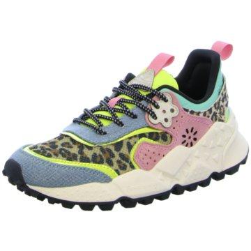 Flower Mountain Sneaker Low bunt