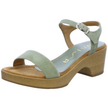 Unisa Top Trends Sandaletten grün