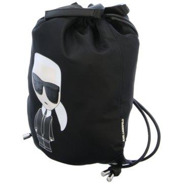 Karl Lagerfeld Sporttaschen schwarz
