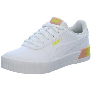 Puma Sneaker LowCARINA SUMMER FADE JR - 368765 weiß