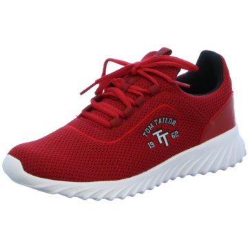 Tom Tailor Sneaker Low rot
