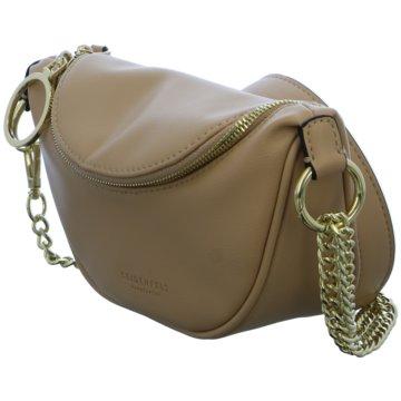 SEIDENFELT Taschen Damen braun