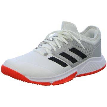 adidas HallenschuheCourt Team Bounce M weiß