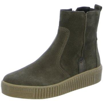 Gabor BootsStiefelette grün
