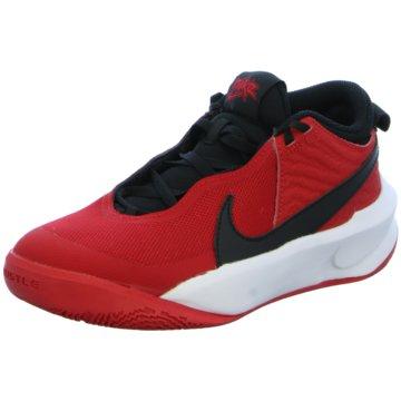 Nike Sneaker LowTEAM HUSTLE D 10 - CW6735-600 rot