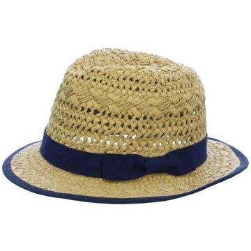 Seiden-Grohn Hüte, Mützen & Co. blau