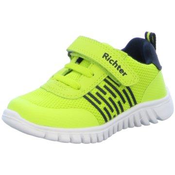 Richter Sneaker Low gelb