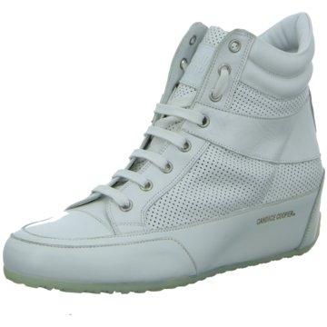 Candice Cooper Sneaker Wedges weiß