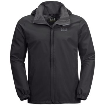 JACK WOLFSKIN FunktionsjackenSTORMY POINT JACKET M - 1111141-6000 schwarz