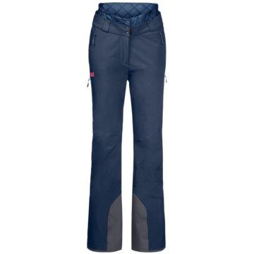JACK WOLFSKIN OutdoorhosenSNOW SUMMIT PANTS W - 1113491-1024 blau