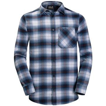 JACK WOLFSKIN LangarmhemdenLIGHT VALLEY SHIRT - 1402741-7630 blau