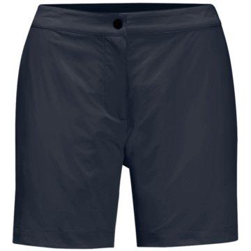 JACK WOLFSKIN kurze SporthosenJWP SHORTS W - 1505981 blau
