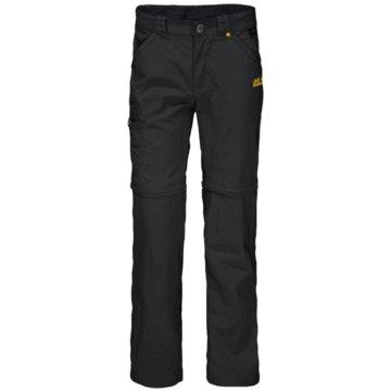 JACK WOLFSKIN OutdoorhosenSAFARI ZIP OFF PANTS K - 1605871 schwarz