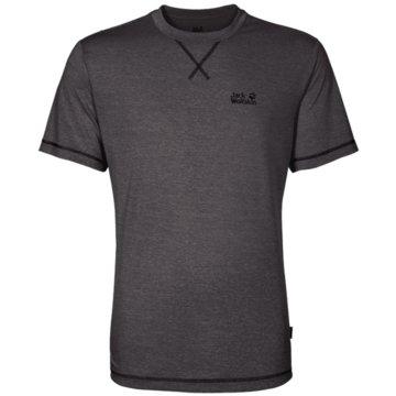 JACK WOLFSKIN T-ShirtsCROSSTRAIL T MEN - 1801671 grau