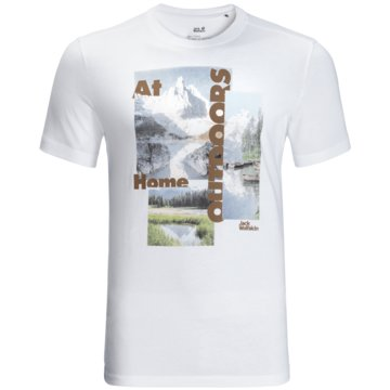 JACK WOLFSKIN T-ShirtsLAKE MORNING T M - 1807771 weiß