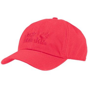 JACK WOLFSKIN CapsBASEBALL CAP - 1900671 rot