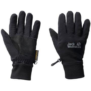 JACK WOLFSKIN FingerhandschuheSTORMLOCK SUPERSONIC XT GLOVE - 1901121 schwarz