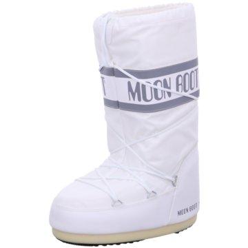 Moon Boot Winterstiefel weiß