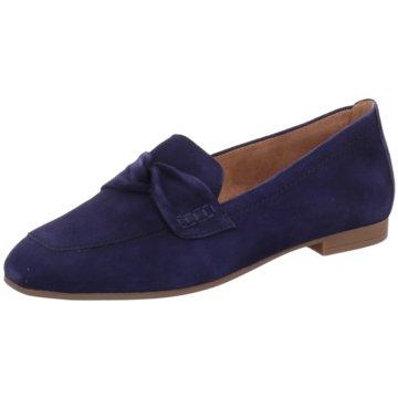 Gabor Klassischer Slipper blau