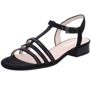 Gabor comfort Sandale schwarz