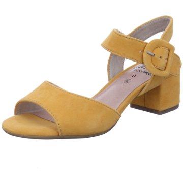 Jana Top Trends Sandaletten gelb