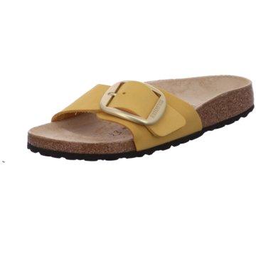Birkenstock Klassische Pantolette gelb